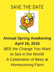BeeSavetheDate
