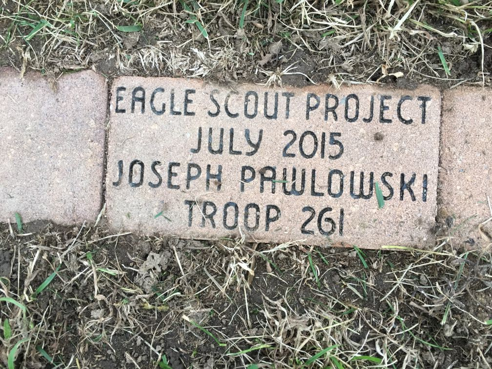 Eagle Scout Project brick